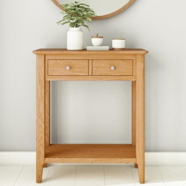 Hallway Tables Console Furniture123 - Small Console Table With Drawers