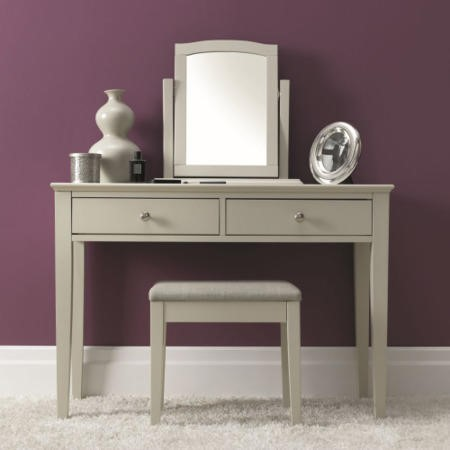 Bentley Designs Ashby Dressing Table in Cotton White