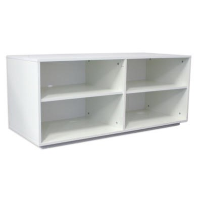 Monaco TV Unit in White