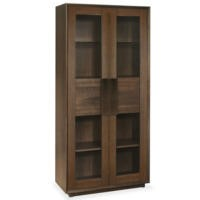 Bentley Designs City Walnut Display Cabinet