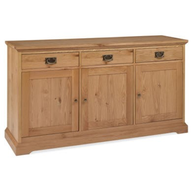 Bentley Designs Provence Oak Wide Sideboard