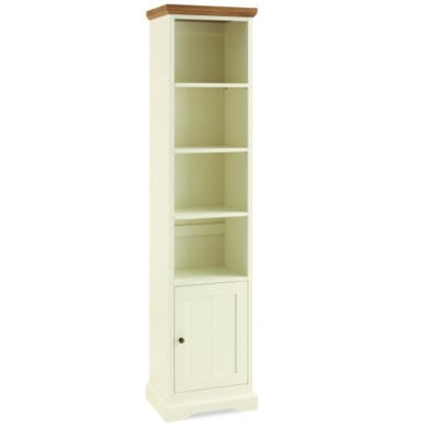 Bentley Designs Provence Two Tone Narrow Bookcase