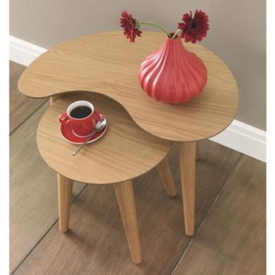 Bentley Designs Oslo Oak Nest of Tables