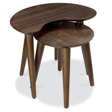 Bentley Designs Oslo Walnut Nest of Tables