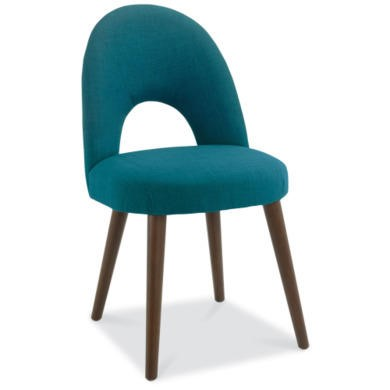 Bentley Designs Pair of Oslo Upholstered Dining Chairs in