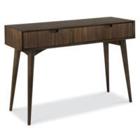 Bentley Designs Oslo Walnut Console Table with Drawer