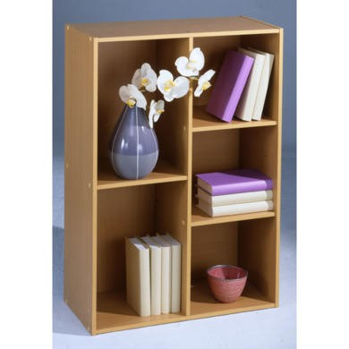 Cube Display Cabinet in Maple