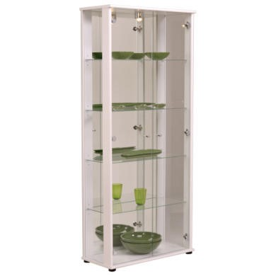 Parisot Oscar Display Cabinet in White