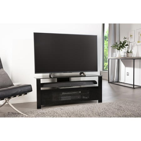 "Alphason ABRD1100-BLK Ambri TV Stand for up to 50"" TVs - Black"