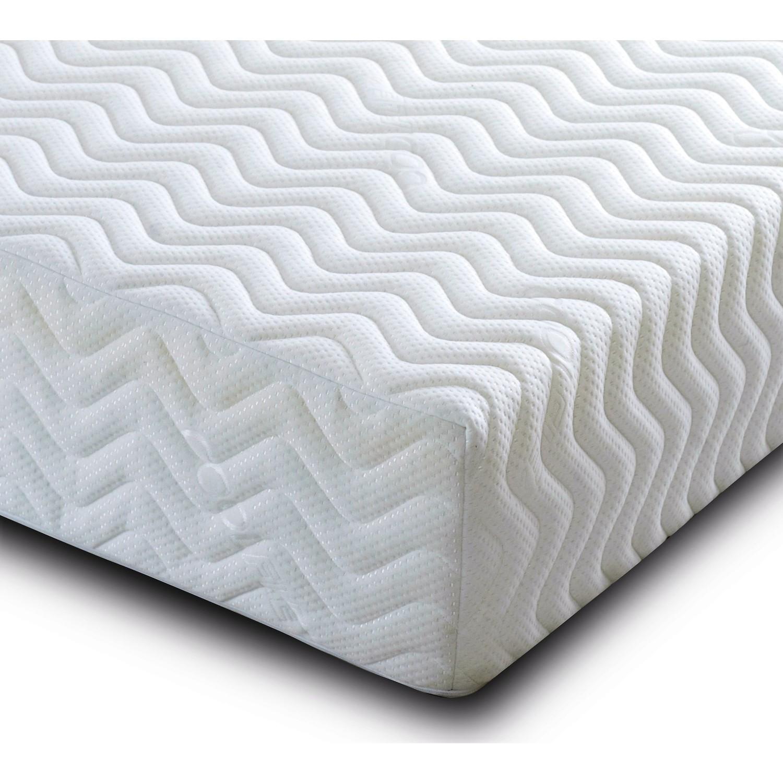 Aspire cool blue luxury foam mattress - small double 4ft