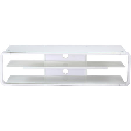 "Alphason ADL1400-WHT Lithium TV Stand for up to 72"" TVs - White"