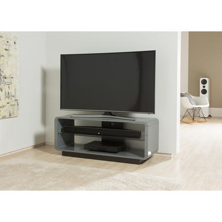 "Alphason ADLU1200-GRY Luna TV Stand for up to 60"" TVs - Grey"