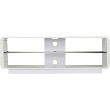 "Alphason ADLU1400-WHT Luna White TV Stand for up to 72"" TVs"