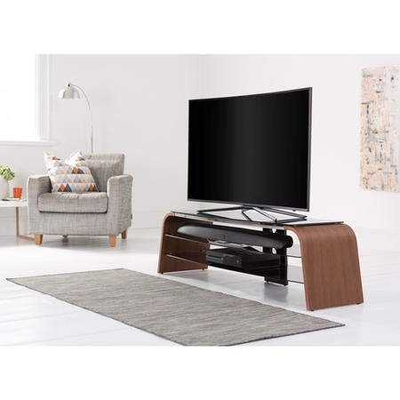 "Alphason ADSP1600-WAL Spectrum TV Stand for up to 70"" TVs - Walnut"