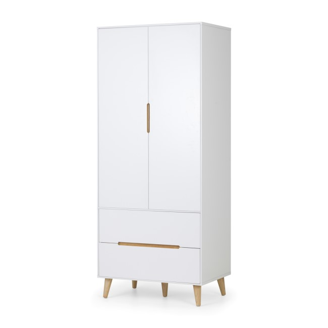 Julian Bowen Alicia 2 Drawer Wardrobe