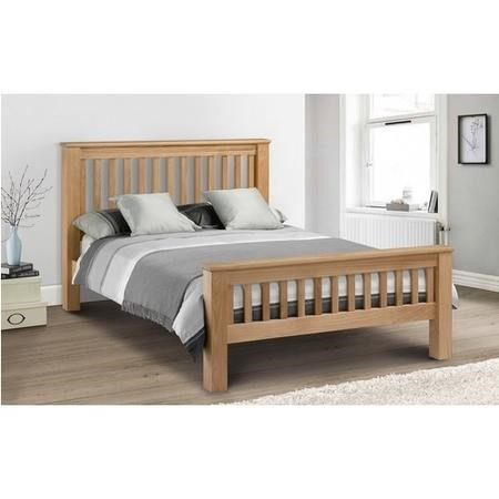 Julian Bowen Amsterdam Oak Super King Bed