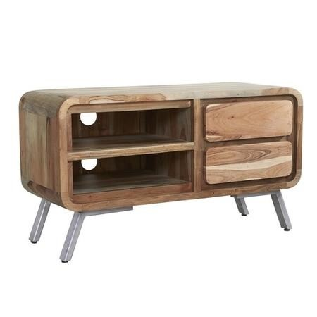 Aspen Retro Two Tone TV media Unit