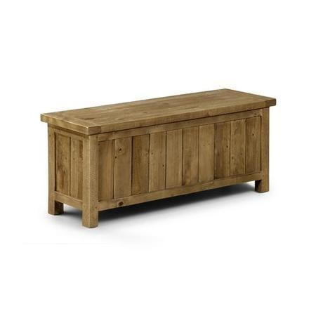 Sensational Solid Wood Storage Bench Blanket Box Julian Bowen Aspen Range Pdpeps Interior Chair Design Pdpepsorg