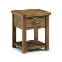 Julian Bowen Aspen Lamp Table with 1 Drawer