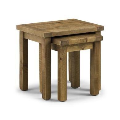 Solid Wood Nest of Tables - Julian Bowen Aspen Range