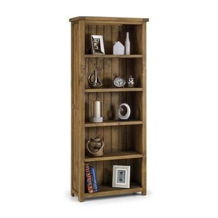 Solid Wood Bookshelf & Shelving Unit - Julian Bowen Aspen Range