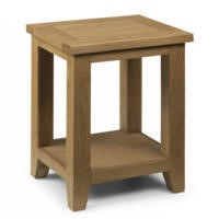 Julian Bowen Astoria Side Table in Waxed Oak