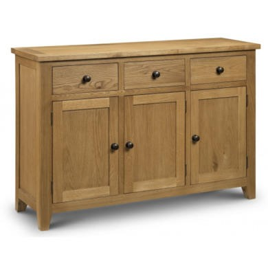 Julian Bowen Astoria Sideboard in Waxed Oak