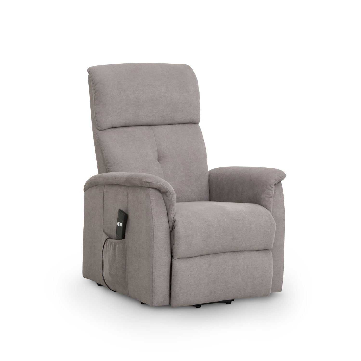 Picture of: Recliner Chair With Rise Function In Beige Fabric Ava Julian Bowen Furniture123