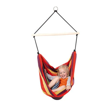 Kids Rainbow Garden Hammock - Fabric Swing Chair