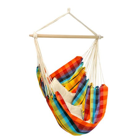 Rainbow Garden Hammock - Fabric Swing Chair