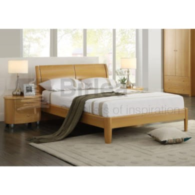 birlea furniture aztec bed with beech finish furniture123