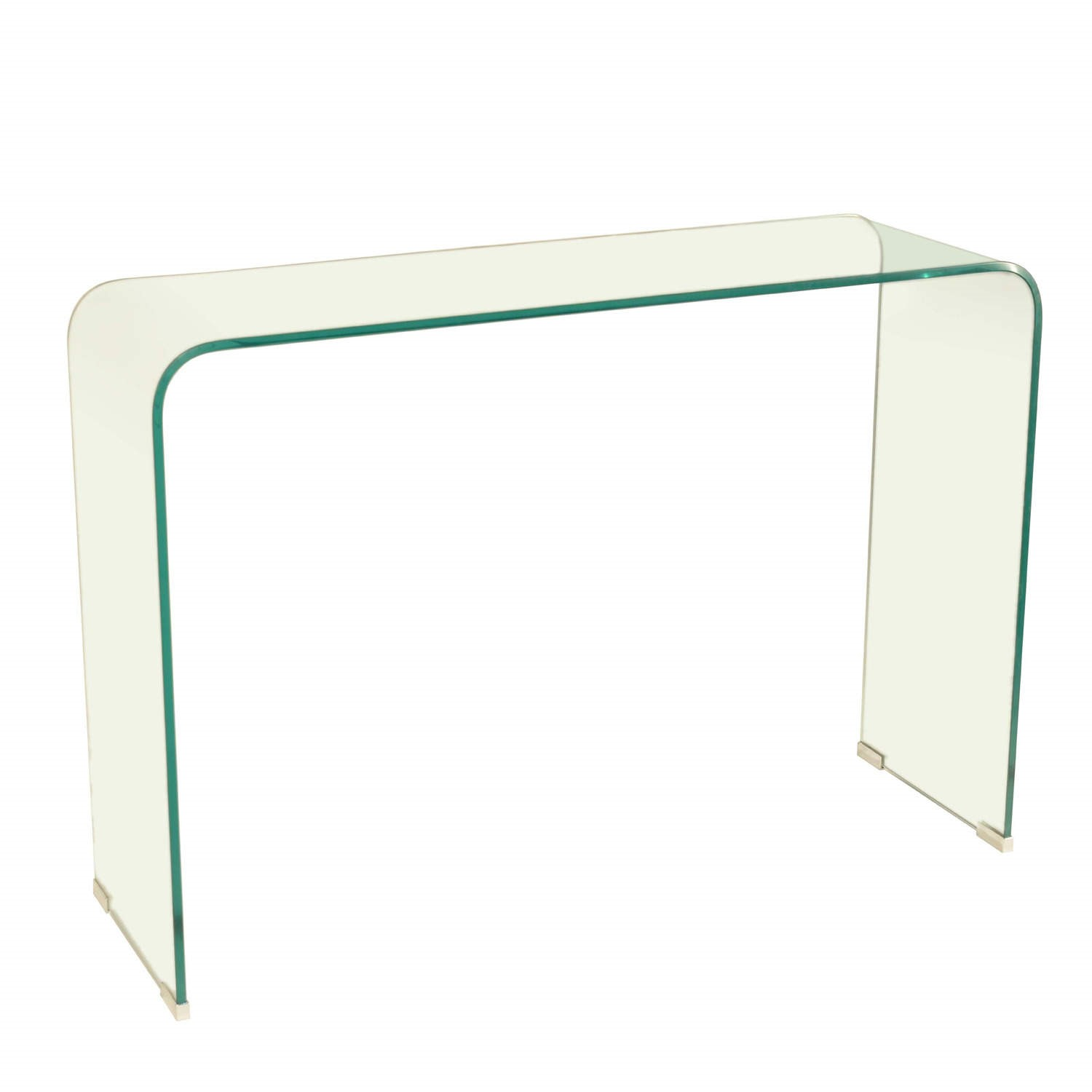 finest selection 53e83 9338f Azurro Curved Glass Console Table - LPD