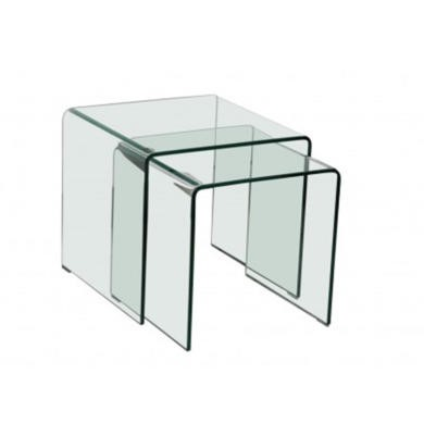 LPD Azurro Glass Nest of Tables