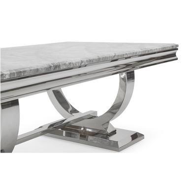 Vida Living Arianna Grey Marble Coffee Table Furniture123