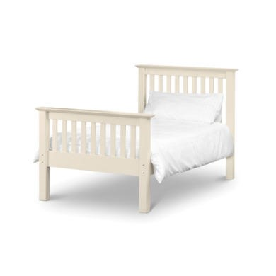 Julian Bowen Barcelona White High End Bed - Single