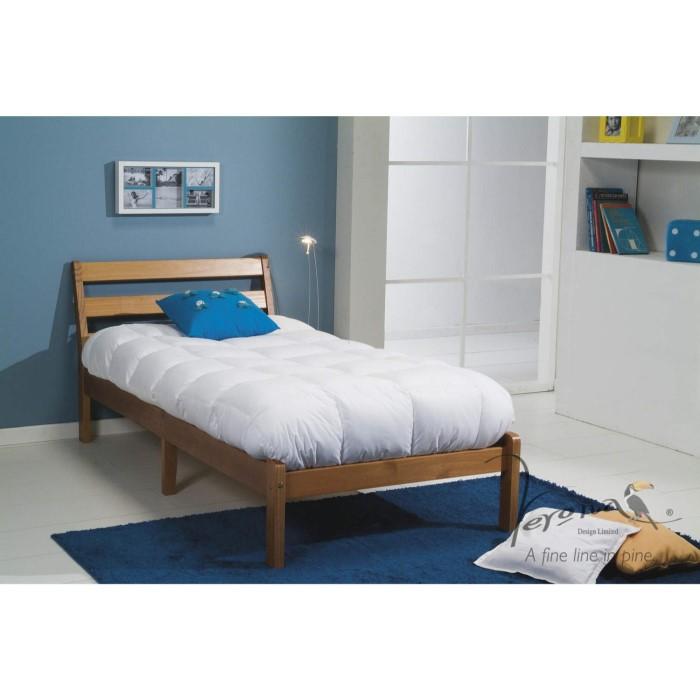 Verona Design Ltd Inclined Single Bed In a Box in Antique Pine ...