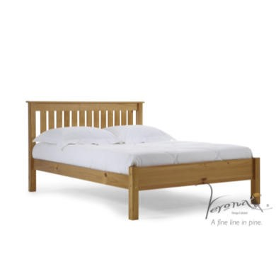 Verona Design Ltd Shaker Single Bed Frame in Antique Pine