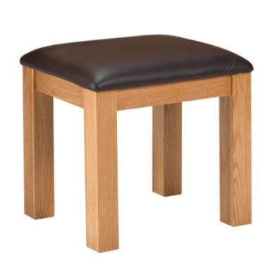 Heritage Furniture Cuba Oak Dressing Table Stool