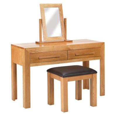 Heritage Furniture Cuba Oak Dressing Table Set