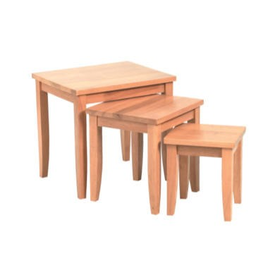 LPD Limited Beech Shaker Nest Of Tables