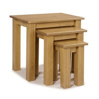 Brooklyn Solid Wood Nest of Tables