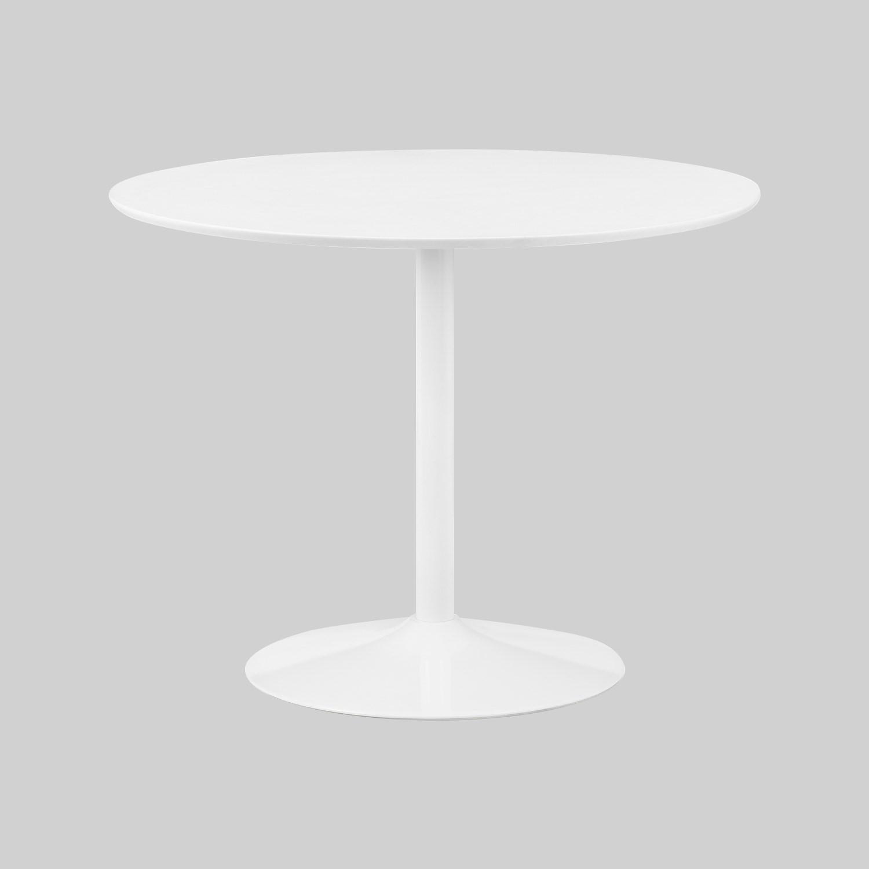 Julian Bowen Blanco Round White Table