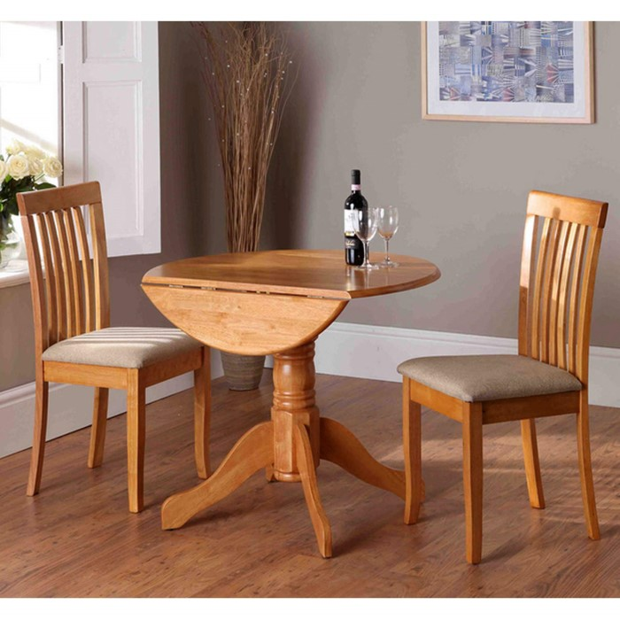 Grade A1 Wilkinson Furniture Brecon Drop Leaf Dining Table In Natural Furniture123