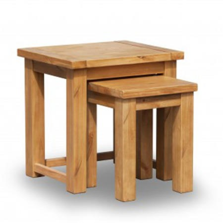 Lpd boden rustic nest of tables furniture123 for Furniture 123