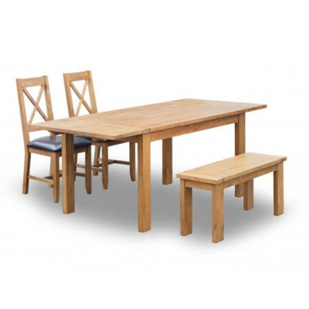 LPD Boden Rustic Extending Dining Table