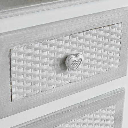 LPD Brittany 2+2 Drawer Chest