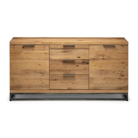 Julian Bowen Brooklyn Solid Oak Sideboard