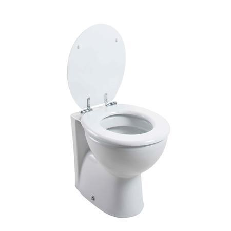 Round Back to Wall Toilet - Without Seat