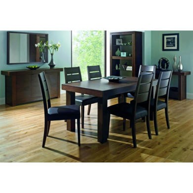 Bentley Designs Akita Dining Set with 6 Chairs