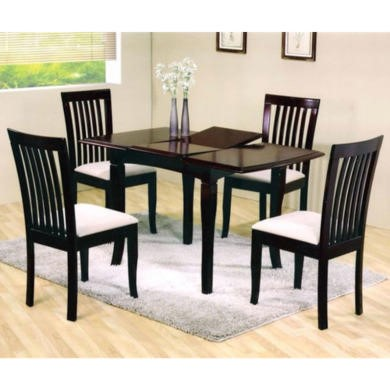 Wilkinson Furniture Naomi Dining Set in Mahogany